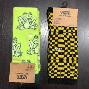 Vans Crew Socks Lot of Two